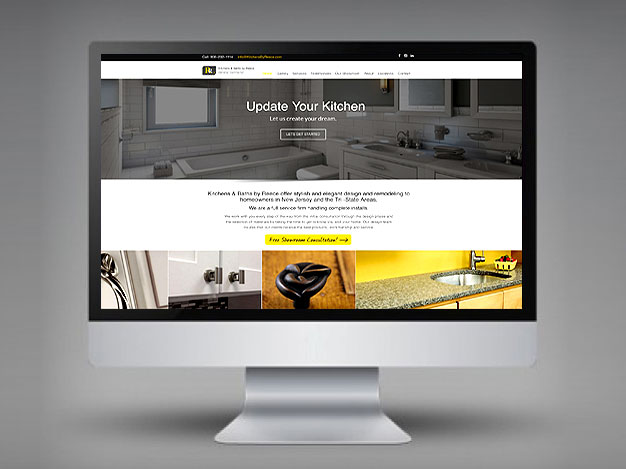 baltimore web design sample